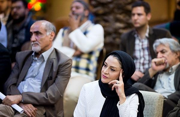 منوچهر محمدی در نشست خبری فیلم سینمایی بادیگارد به همراه مریلا زارعی