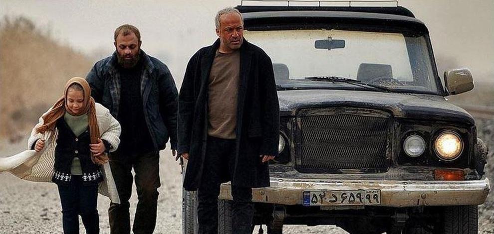 صابر ابر در صحنه فیلم سینمایی روسی به همراه امیر آقایی