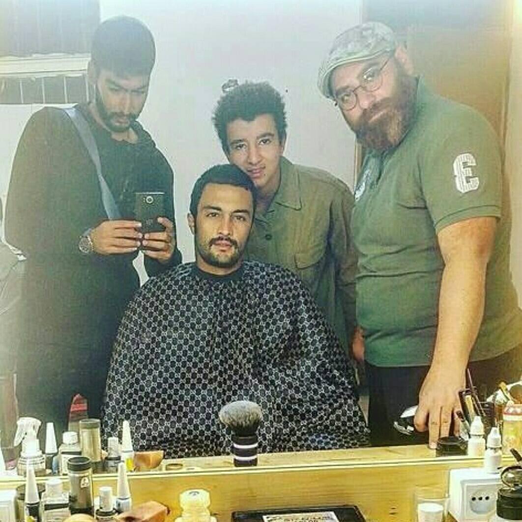 پشت صحنه فیلم سینمایی تنگه ابوقریب به کارگردانی بهرام توکلی