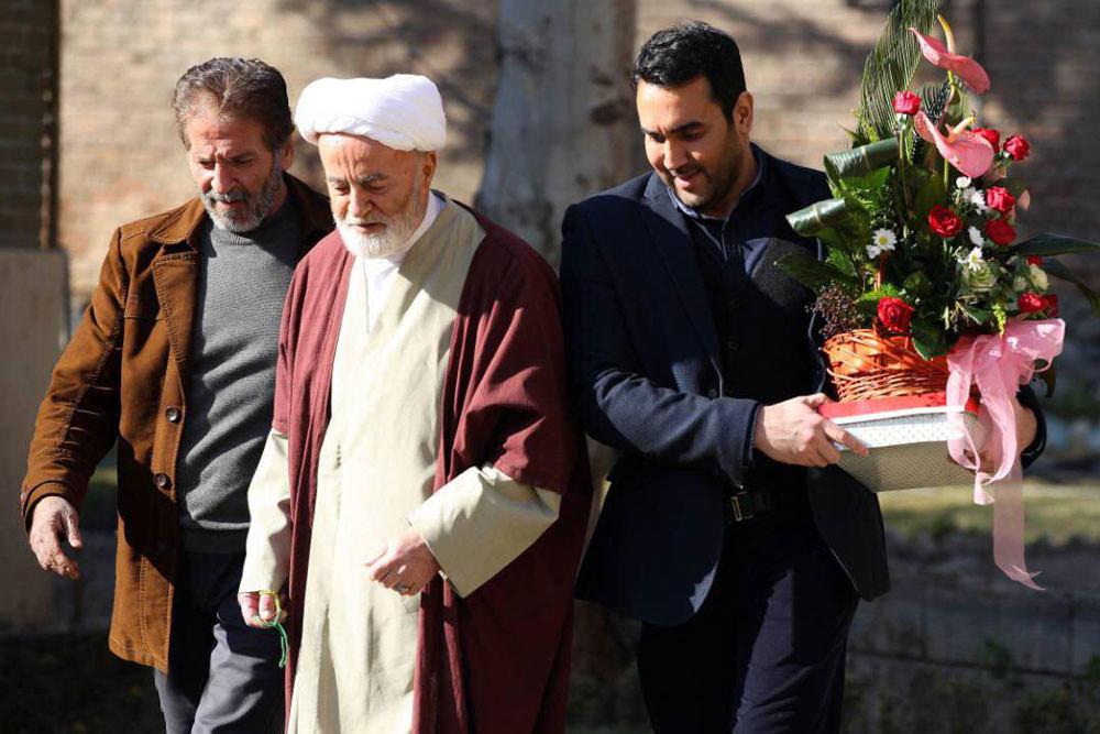 ابوالفضل پورعرب و بهروز بقایی در فیلم سینمایی به وقت خماری