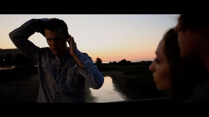 Rachel Seiferth در صحنه فیلم سینمایی California Scheming به همراه Spencer Daniels