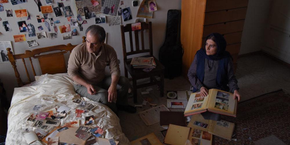 هنگامه قاضیانی و ناصر هاشمی در فیلم برادرم خسرو