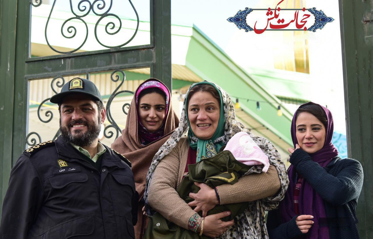 سام درخشانی و الناز حبیبی در فیلم سینمایی خجالت نکش