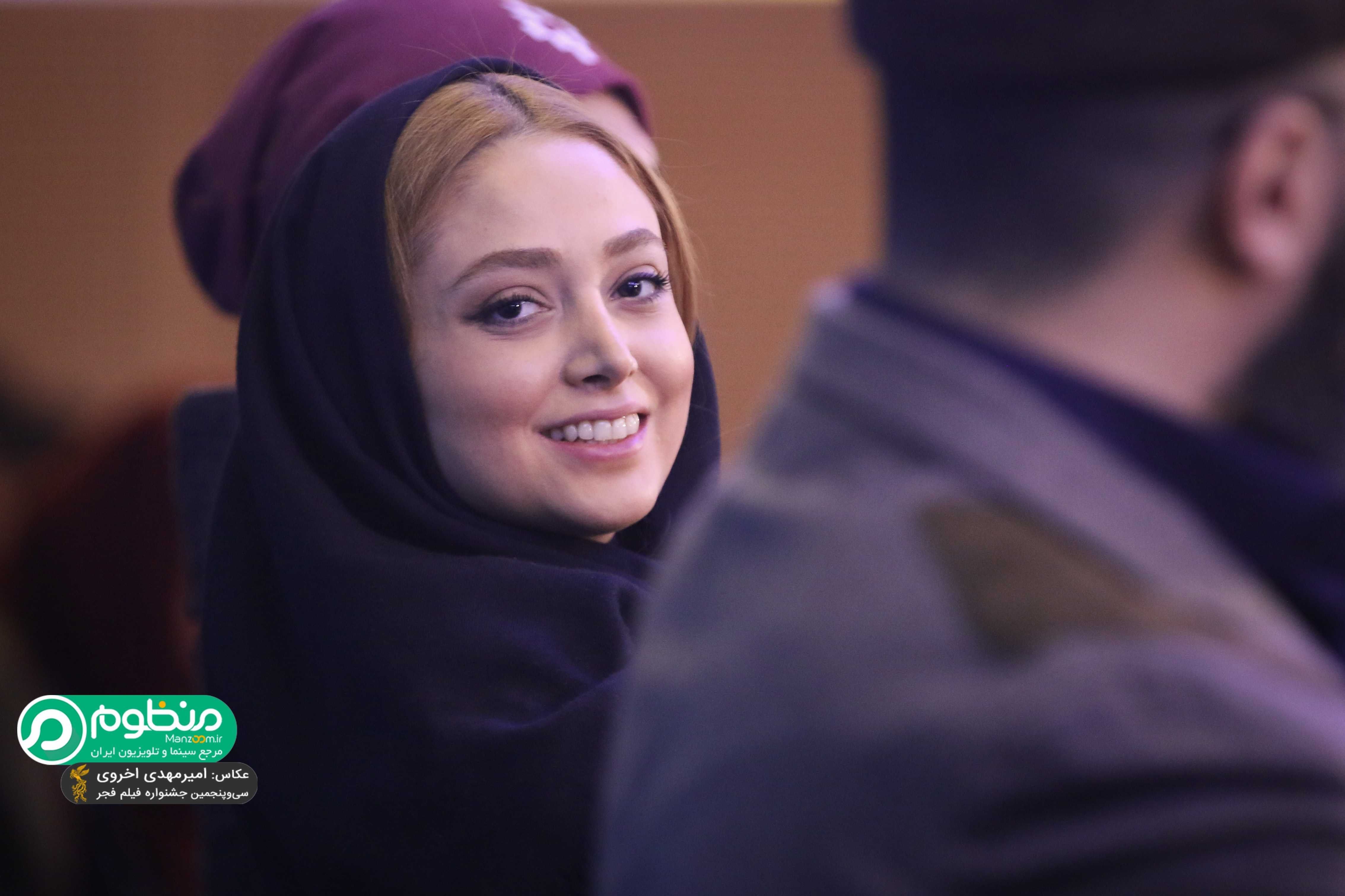 """نیلوفر وهاب زادگان در نشست فیلم """"ماه گرفتگی"""""""