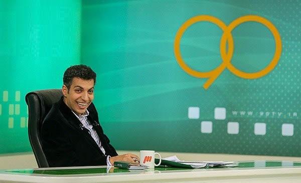عادل فردوسی پور در برنامه تلوزیونی نود