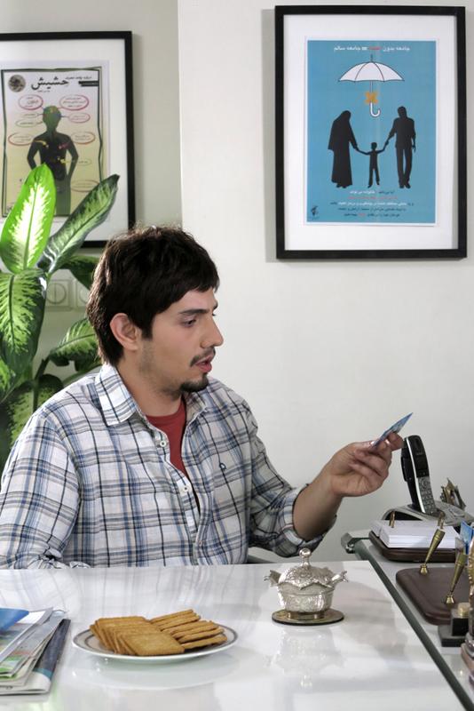 امیر کاظمی در صحنه سریال تلویزیونی لیسانسهها