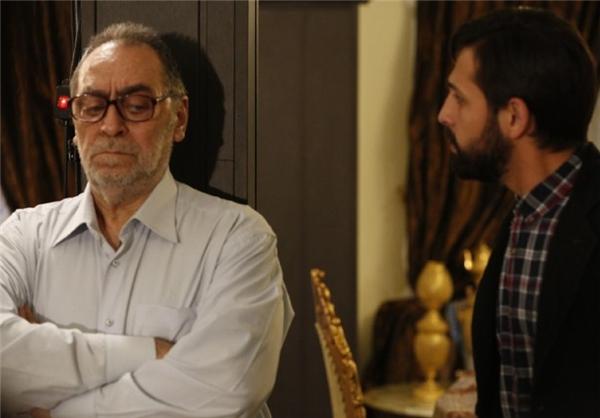 محسن افشانی و هوشنگ توکلی در فیلم ترمینال غرب