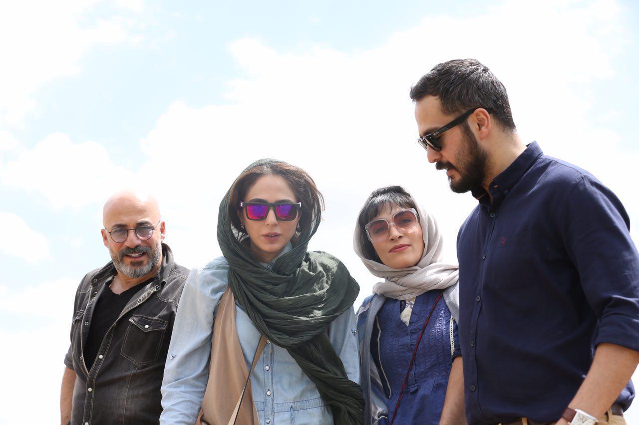 میلاد کی مرام و رعنا آزادیور در فیلم سینمایی حریم شخصی