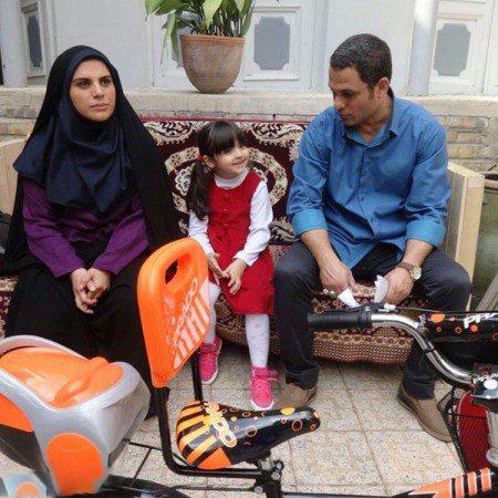 حسین یاری و مژگان بیات در سریال تلوزیونی برادر