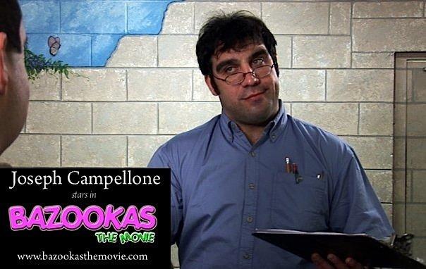 Joseph Campellone در صحنه فیلم سینمایی Bazookas: The Movie