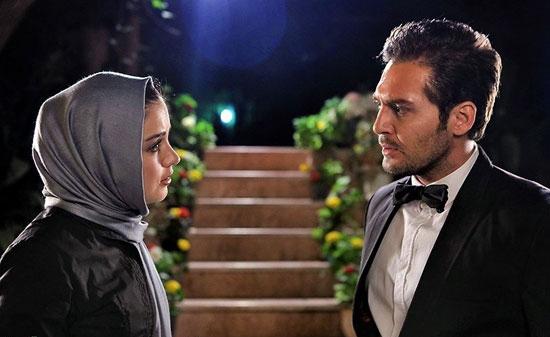 افسانه پاکرو و دانیال عبادی در فیلم سینمایی دو عروس