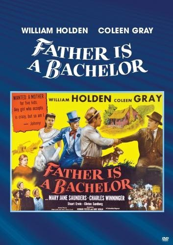 Charles Winninger در صحنه فیلم سینمایی Father Is a Bachelor به همراه Coleen Gray و ویلیام هولدن