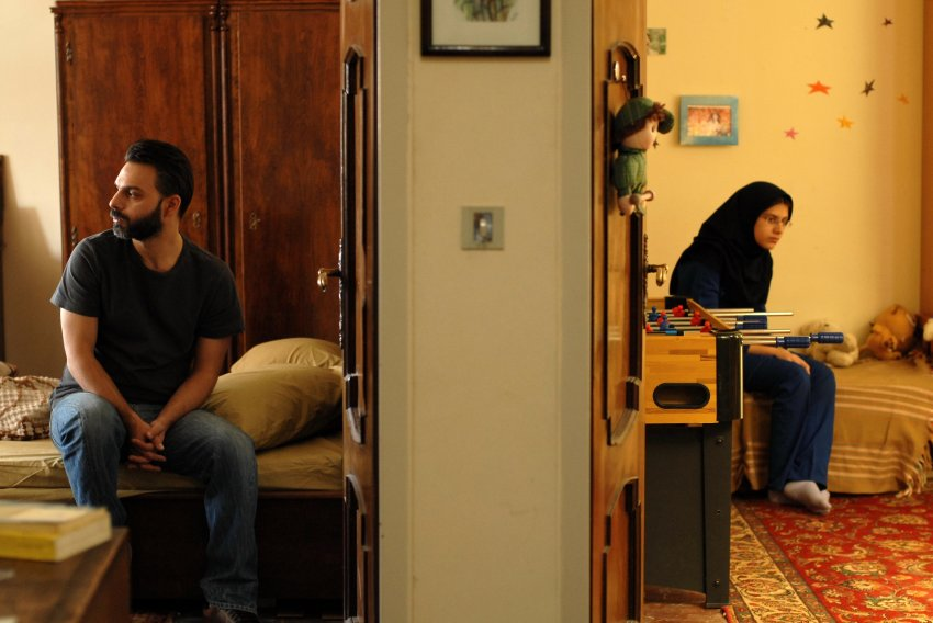 پیمان معادی و سارینا فرهادی در فیلم جدایی نادر از سیمین