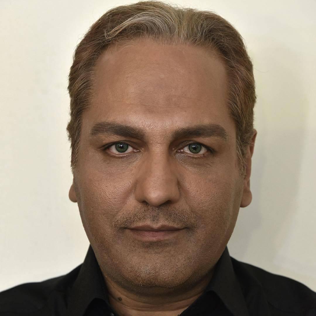 گریم مهران مدیری در فیلم سینمایی ساعت 5 عصر