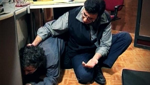امیر جعفری در صحنه سریال تلویزیونی بدون شرح