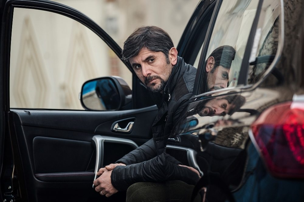 امین حیایی در فیلم سینمایی دارکوب