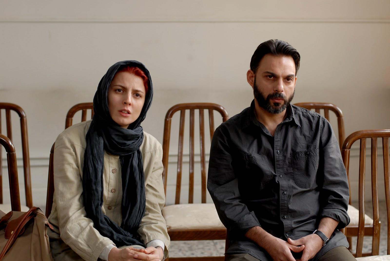 لیلا حاتمی و پیمان معادی در فیلم جدایی نادر از سیمین