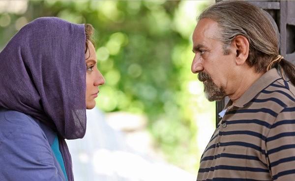 پرویز پرستویی و مهناز افشار در فیلم سینمایی لس آنجلس تهران