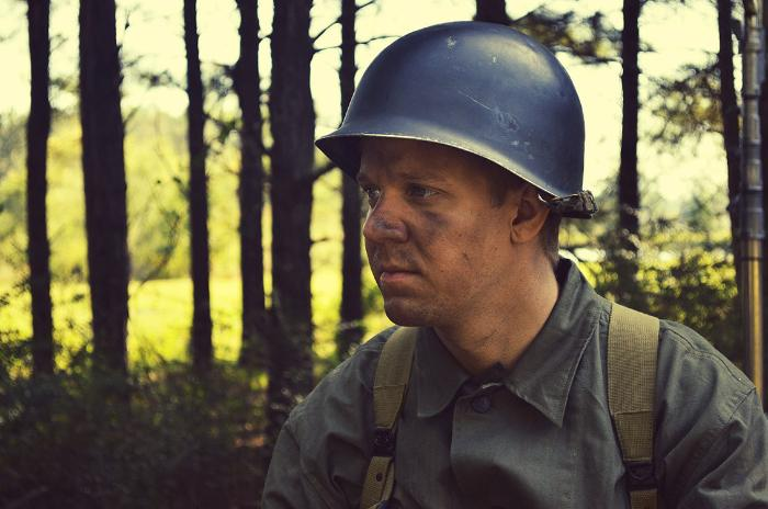 Benjamin Reed در صحنه فیلم سینمایی The Last Rescue