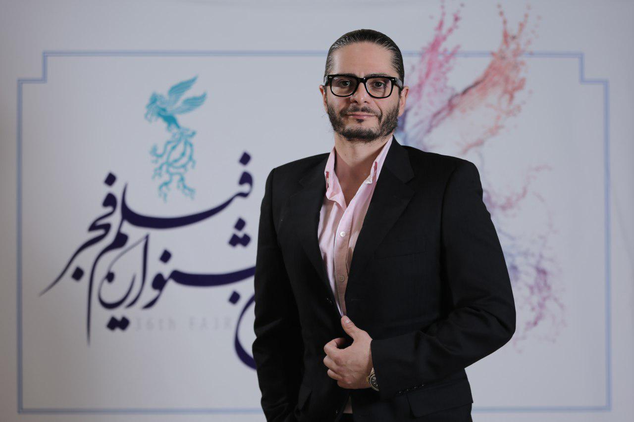 علیرضا رئیسی در جشنواره فیلم تلویزیونی خجالت نکش