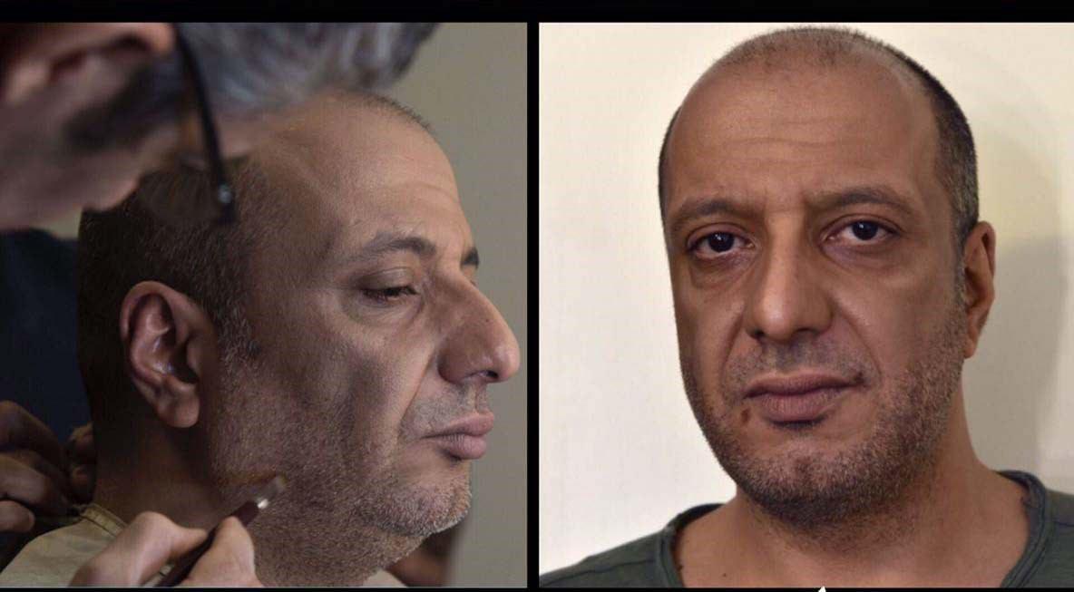 گریم امیر جعفری در فیلم سینمایی ساعت 5 عصر