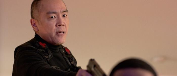 Yuji Okumoto در صحنه فیلم سینمایی تست بتا
