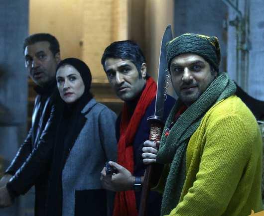 پژمان جمشیدی و سام درخشانی در فیلم خوب بد جلف