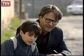 رامبد جوان در صحنه سریال تلویزیونی بزرگ مردکوچک به همراه محمد شادانی