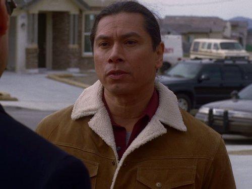 Gregory Cruz در صحنه سریال تلویزیونی ذهن های مجرم