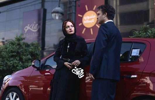 مهناز افشار و حسین یاری در سریال عاشقانه