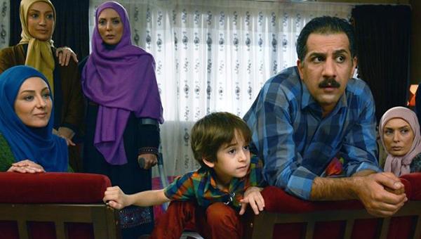آتنه فقیه نصیری و محمد نادری در سریال تلوزیونی شمعدونی