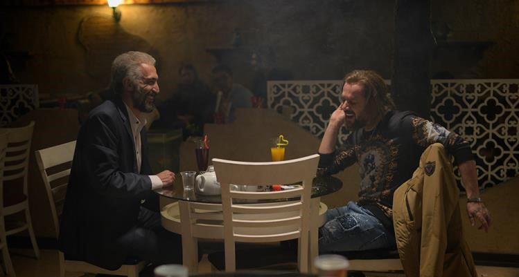 احمد مهرانفر و هادی حجازیفر در فیلم سینمایی کاتیوشا