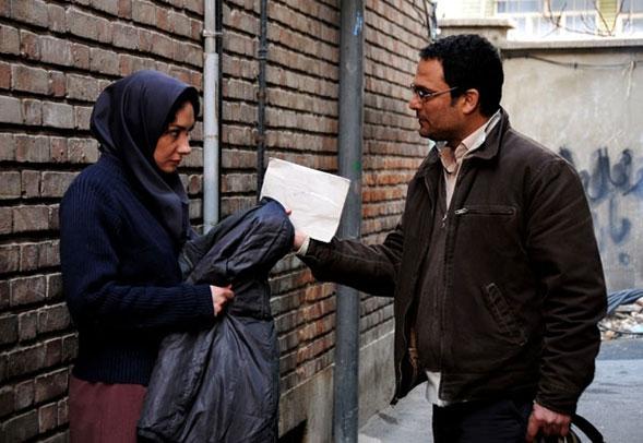 هانیه توسلی و حسین یاری در فیلم ابرهای ارغوانی
