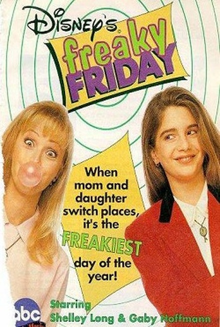 Gaby Hoffmann در صحنه فیلم سینمایی Freaky Friday به همراه Shelley Long