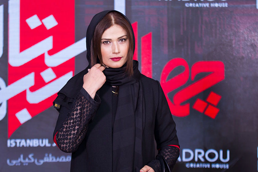 لادن مستوفی در جشنواره فیلم سینمایی چهارراه استانبول
