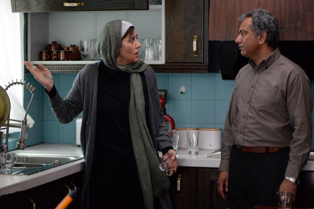 مهتاب کرامتی و محمدرضا هدایتی در فیلم سینمایی جاده قدیم