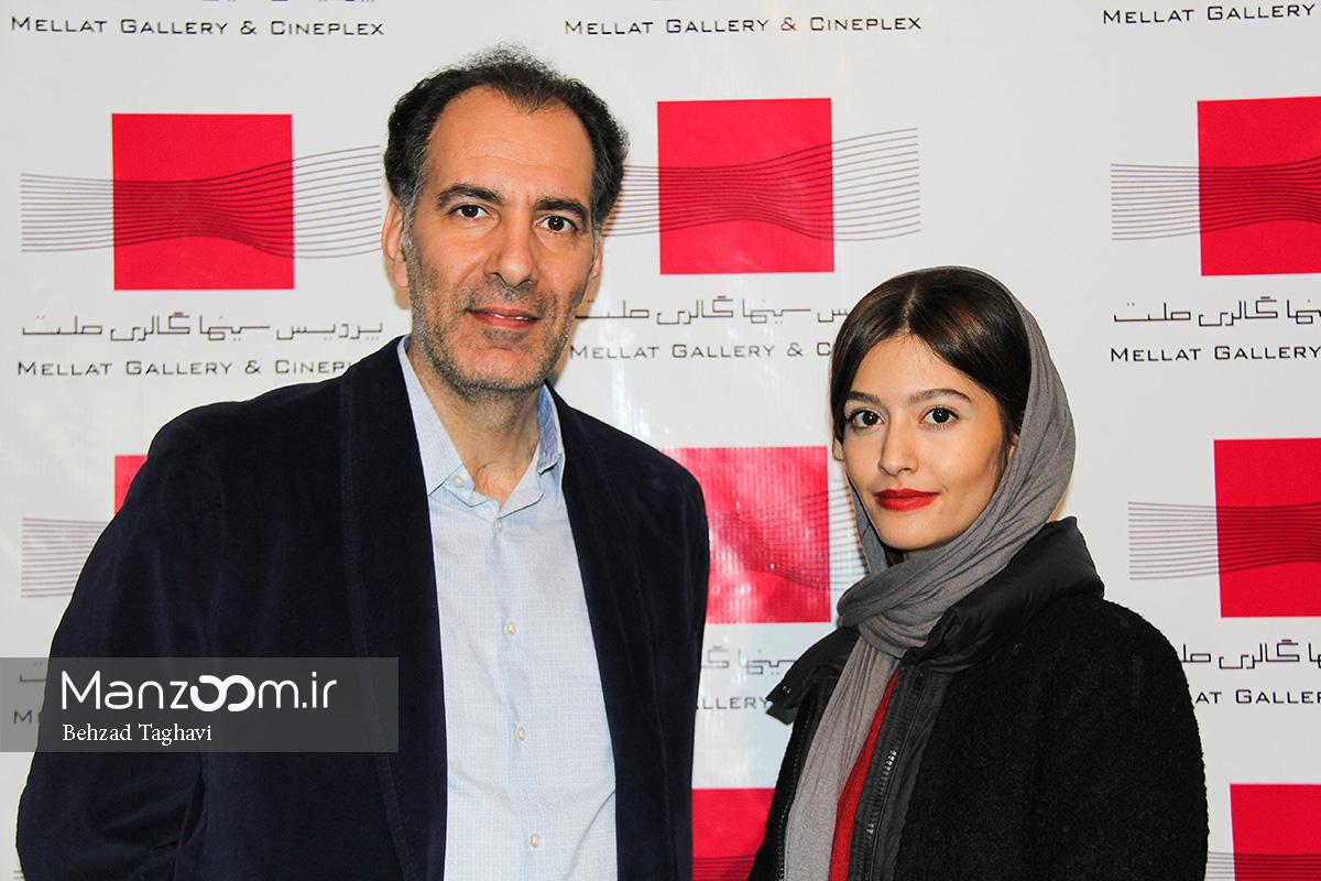 عکسهای بهنام تشکر و پردیس احمدیه در اکران مردمی «لاک قرمز»