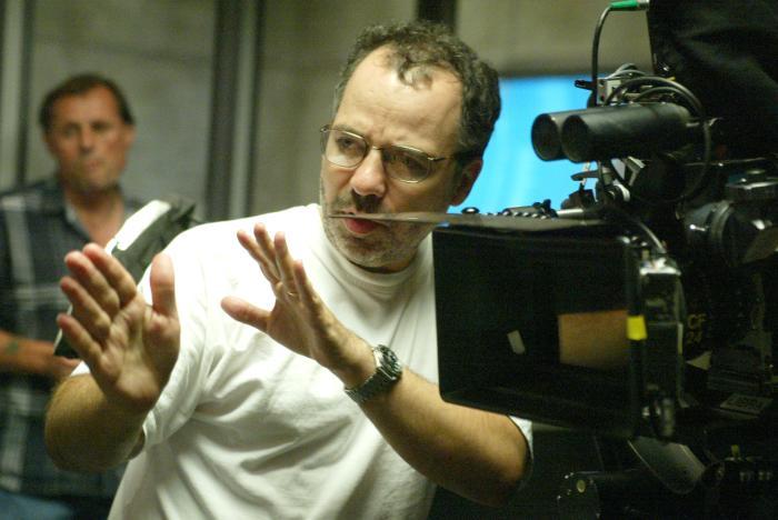 Jonathan Mostow در صحنه فیلم سینمایی نابودگر ۳: خیزش ماشین ها