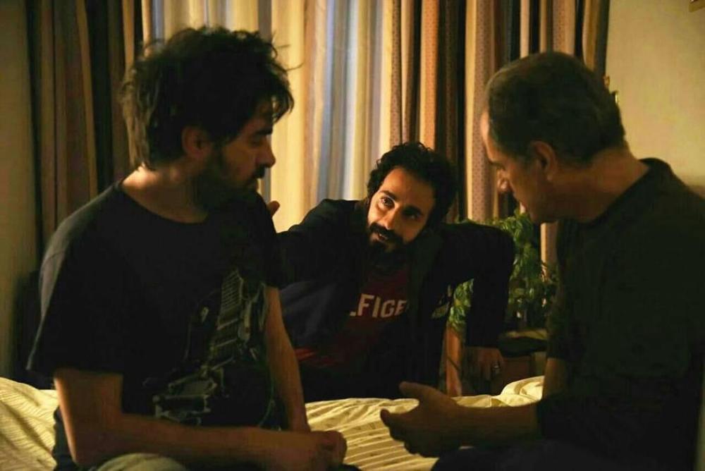 شهاب حسینی و ناصر هاشمی در فیلم برادرم خسرو