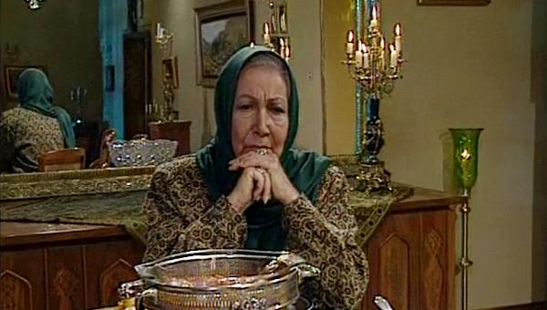 جمیله شیخی در صحنه سریال تلویزیونی تولدی دیگر