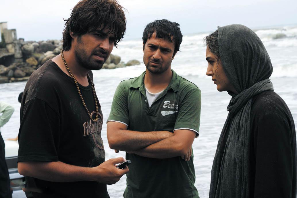 شهاب حسینی و احمد مهرانفر در فیلم درباره الی