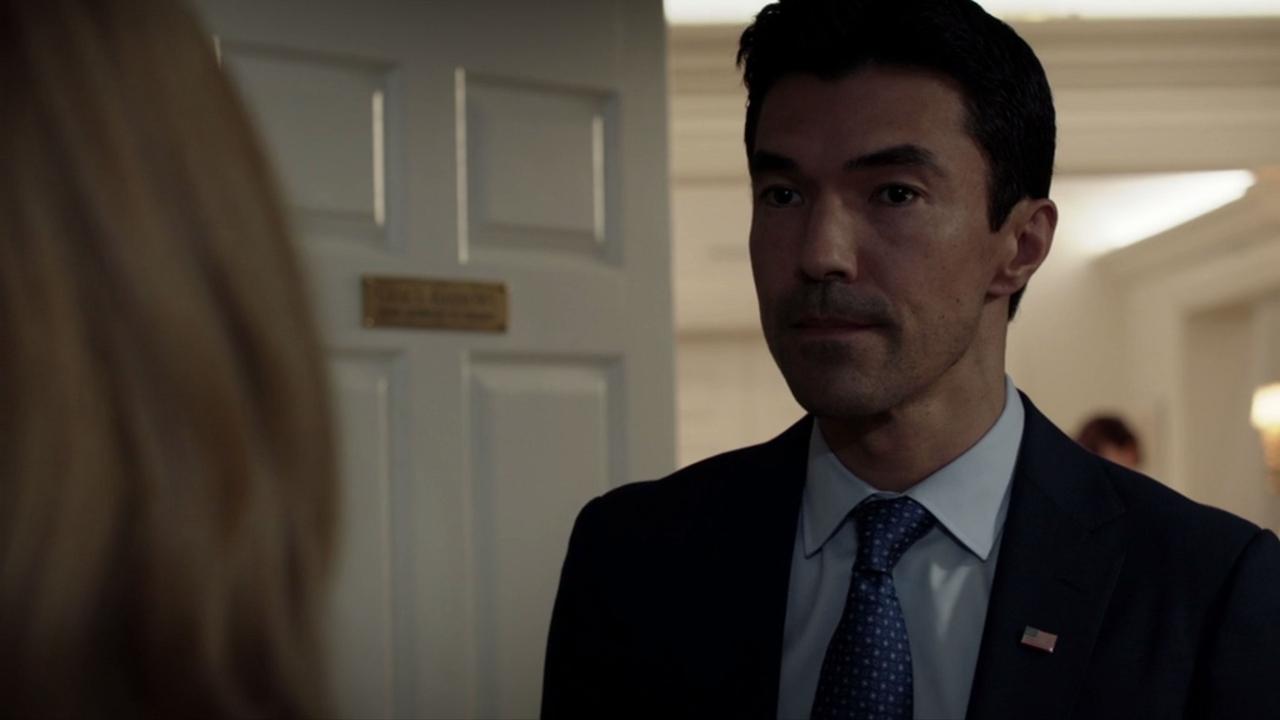 ایان آنتونی داله در صحنه سریال تلویزیونی Salvation