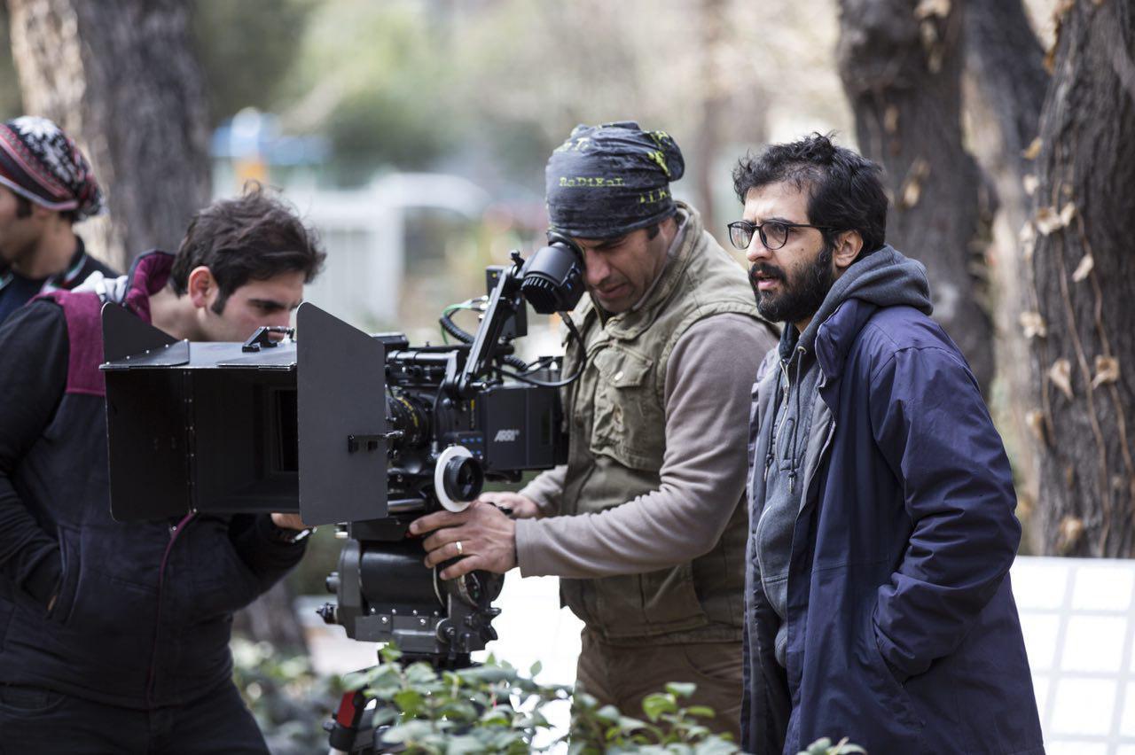 بهروز شعیبی در پشت صحنه فیلم سینمایی دارکوب