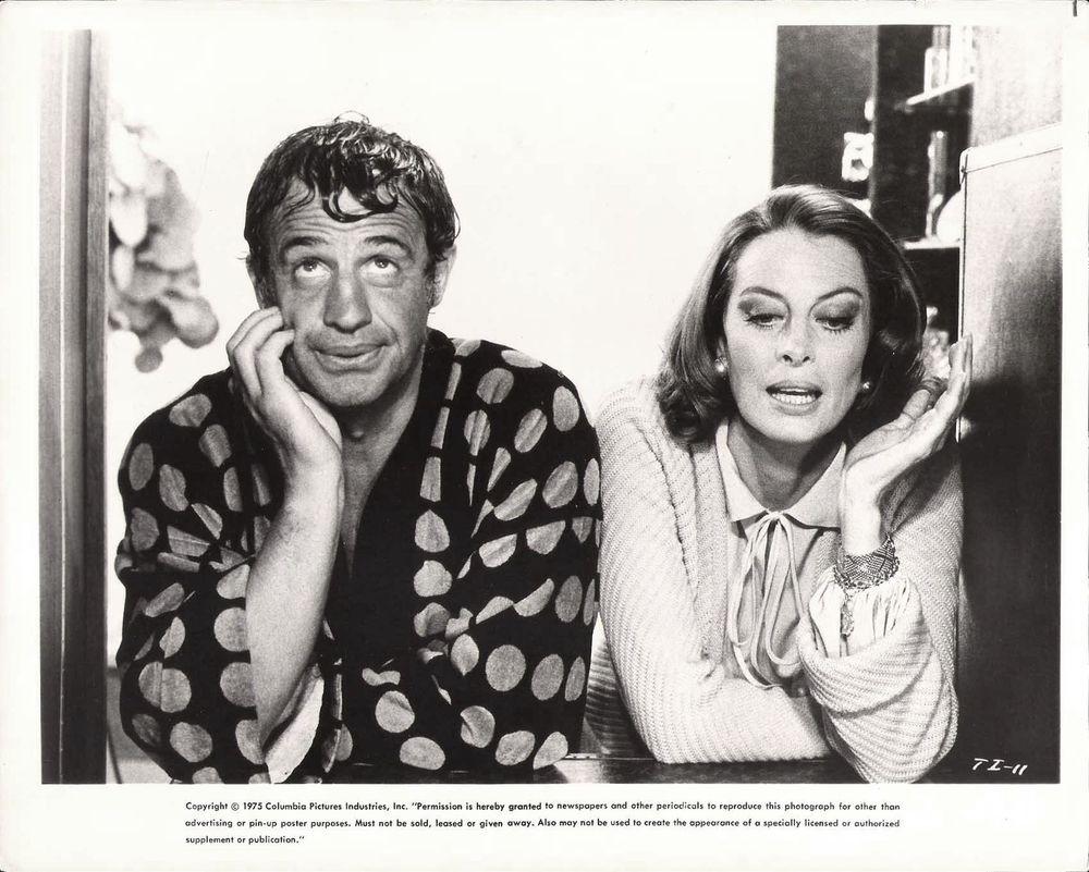 Capucine در صحنه فیلم سینمایی Incorrigible به همراه Jean-Paul Belmondo