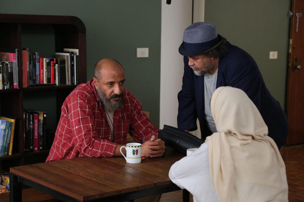 امیر جعفری و محمدرضا شریفینیا در فیلم سوفی و دیوانه