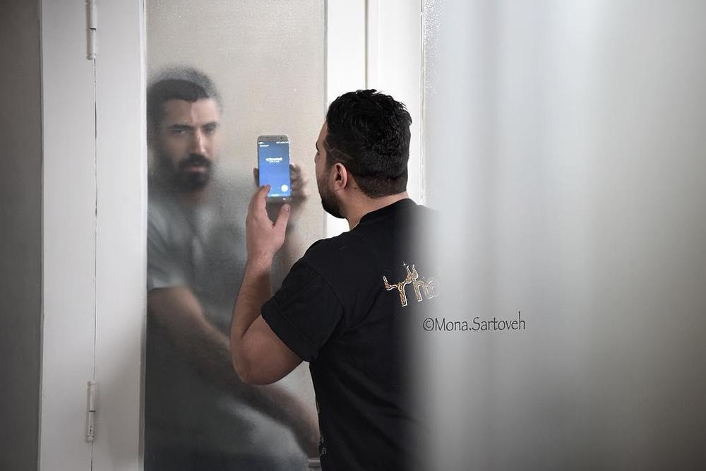 محسن کیایی در فیلم سینمایی جشن دلتنگی
