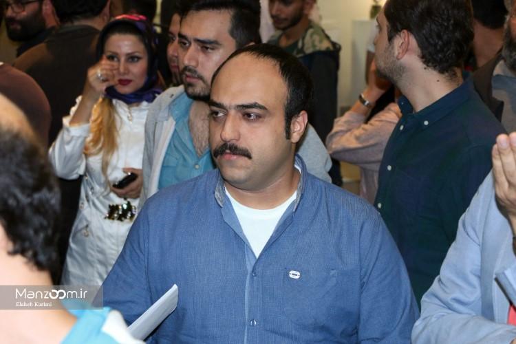 مجید توکلی در اکران افتتاحیه فیلم سینمایی جاودانگی