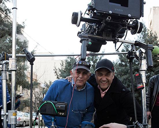 رامبد جوان در پشت صحنه فیلم نگار