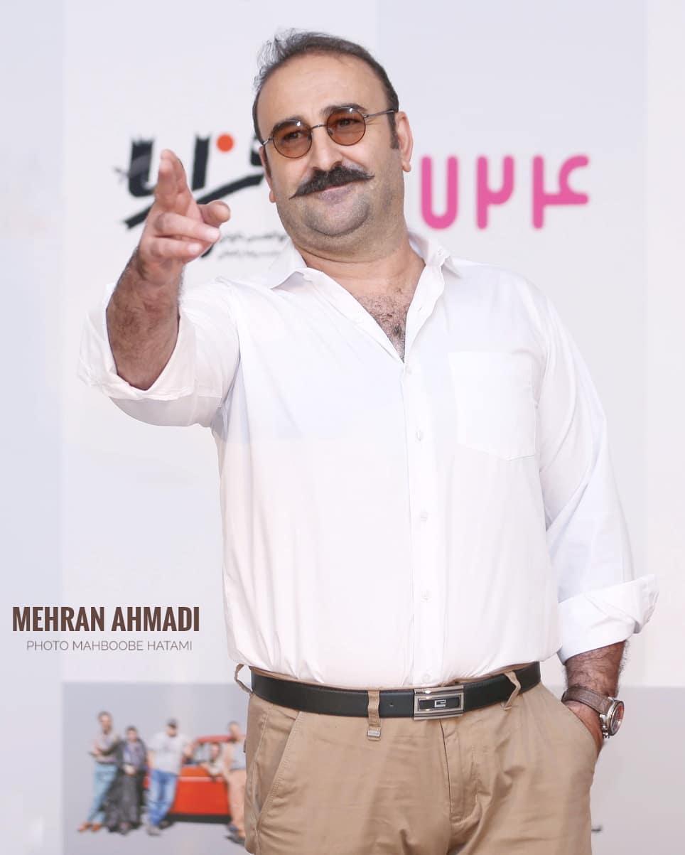 مهران احمدی در صحنه فیلم سینمایی هزارپا