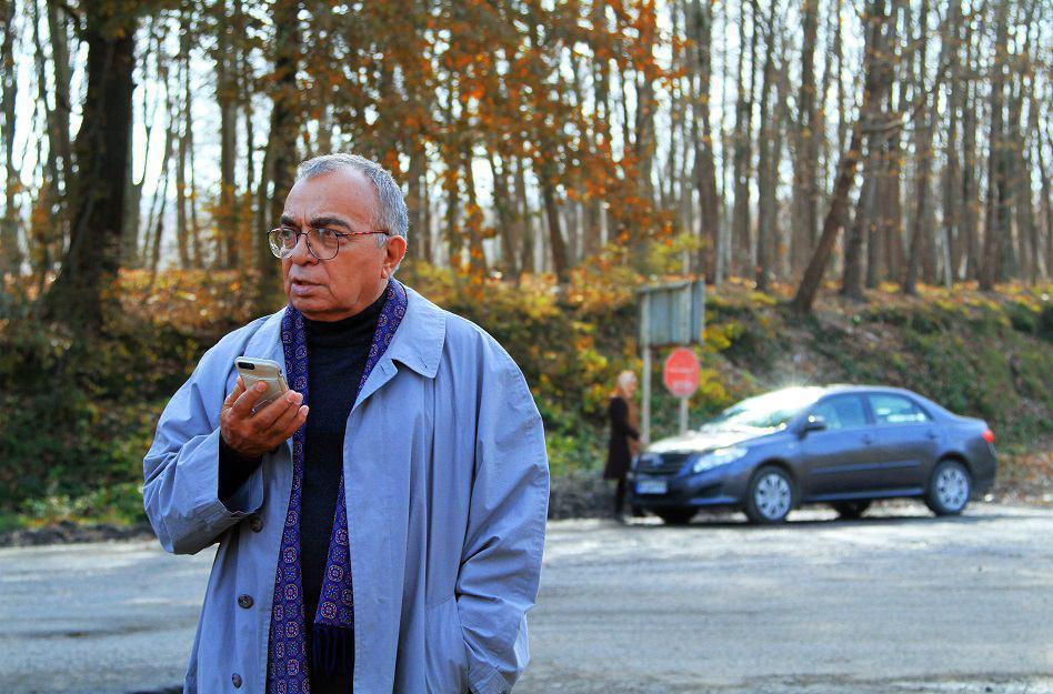مسعود فروتن در فیلم سینمایی شنل